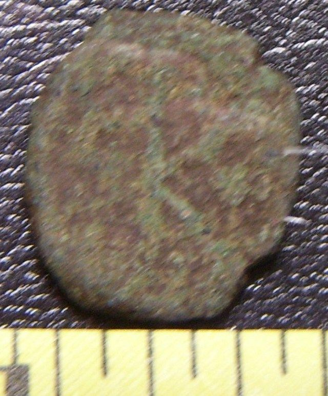 Buy Byzantine Unattributed K Coin Rough c.565+AD at AtomicMall.com