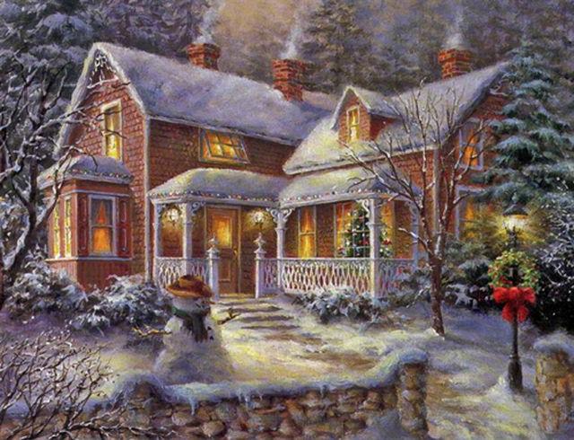 Buy Christmas Time Cross Stitch Pattern L@@K at AtomicMall.com