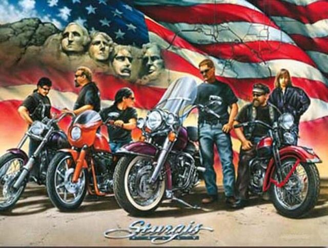 Buy Sturgis MotorCycLe Cross Stitch Pattern LOOK at AtomicMall.com