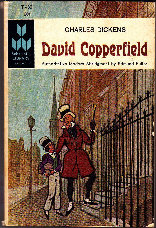 david copperfield scholastic library ed by charles dickens 1962 paperback good