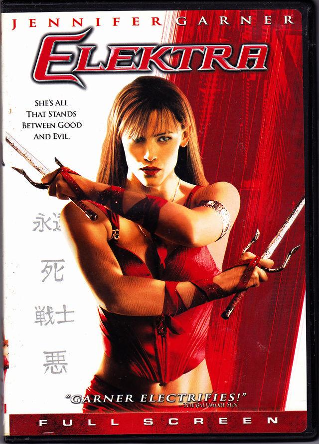 elektra dvd 2005 very good
