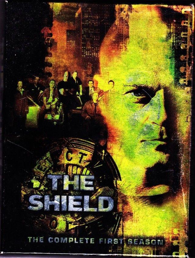 The Shield Complete 1st Season DVD 2002 3 Disc Set Very Good