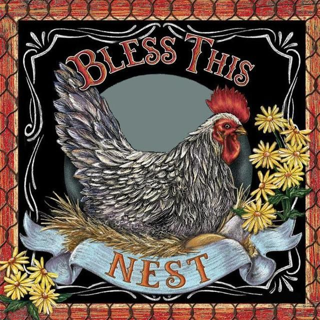 Bless This Nest Cross Stitch Pattern LOOK