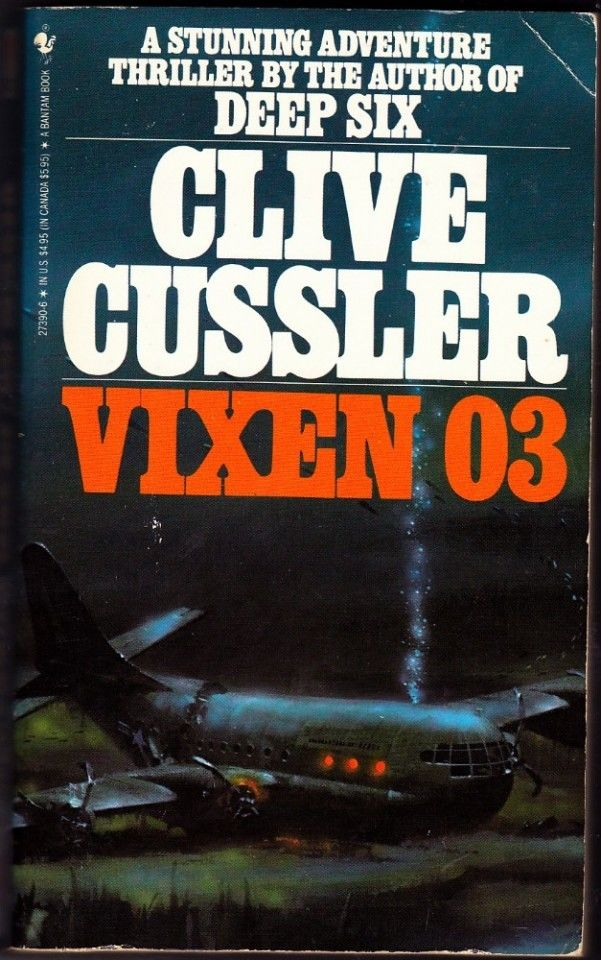 dirk pitt vixen 03 by clive cussler 1984 paperback book good
