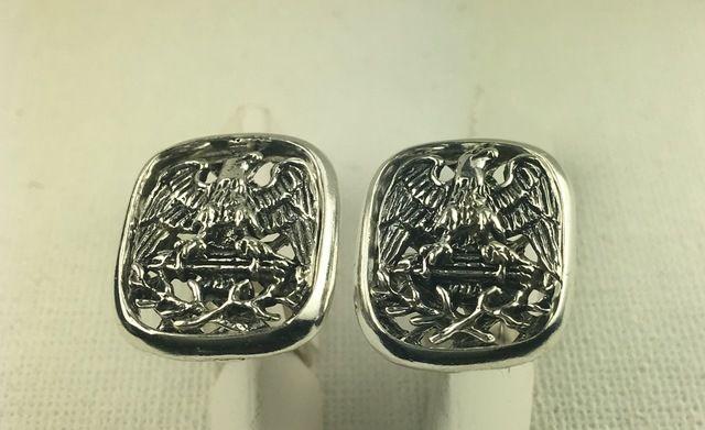 American eagle sterling silver cufflinks