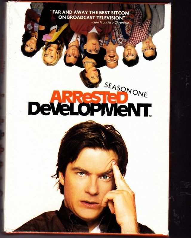 Arrested Development Season 1 DVD 2009 3 Disc Set Very Good