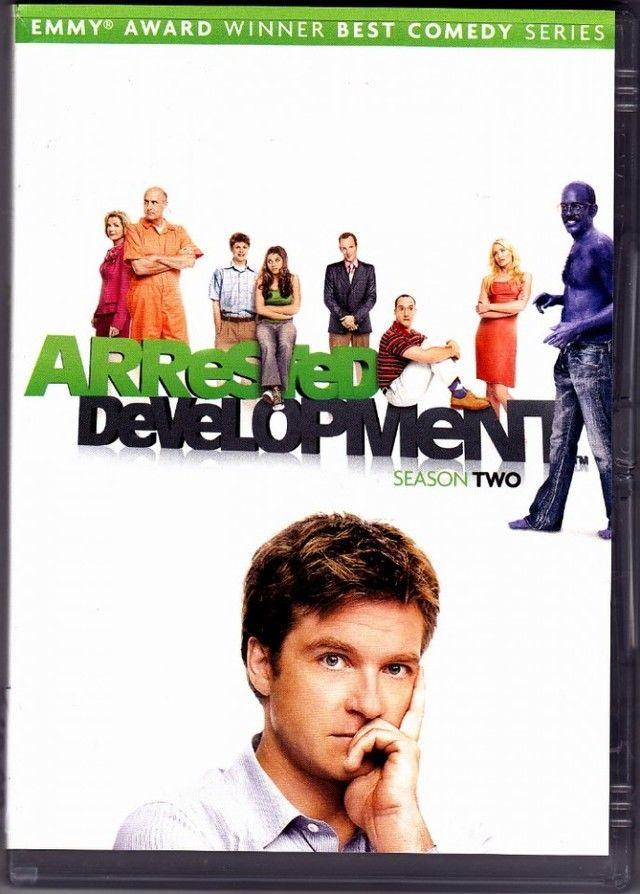 Arrested Development Season 2 DVD 2009 3 Disc Set Very Good