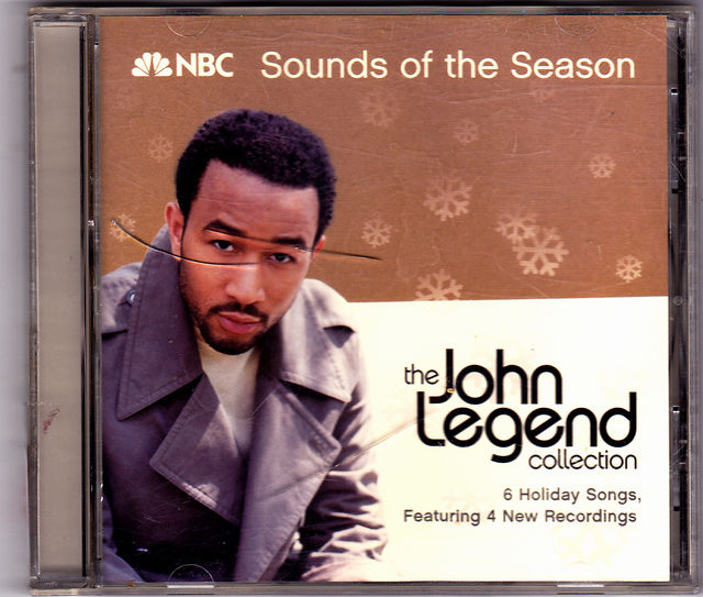 john legend collection nbc sounds season holiday songs cd very good