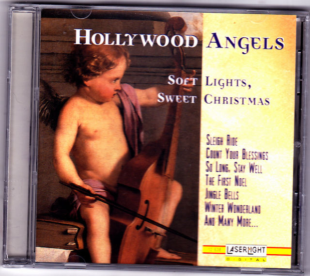 soft lights sweet christmas by hollywood angels cd 1995 very good