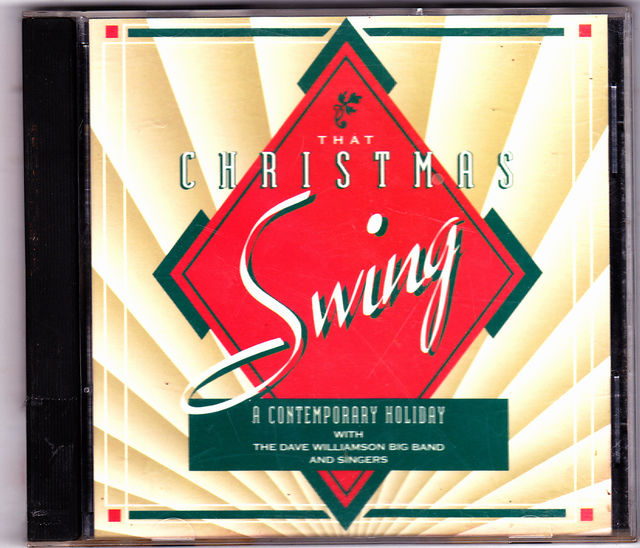 That Christmas Swing Dave Williamson Big Band & Singers 1994 CD Very Good