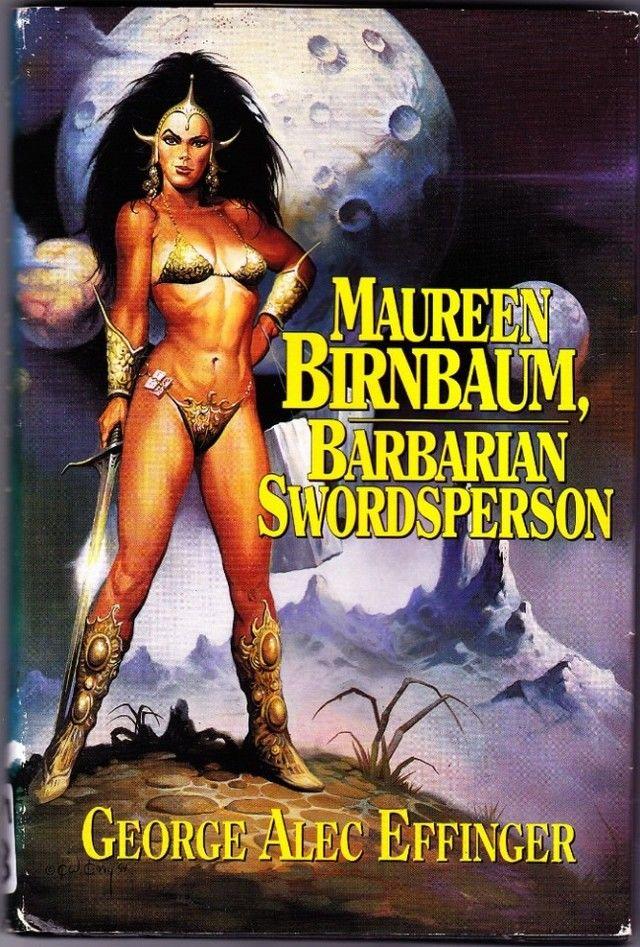 Barbarian Swordsperson by Maureen Birnbaum 1993 Hard Cover Book Very Good