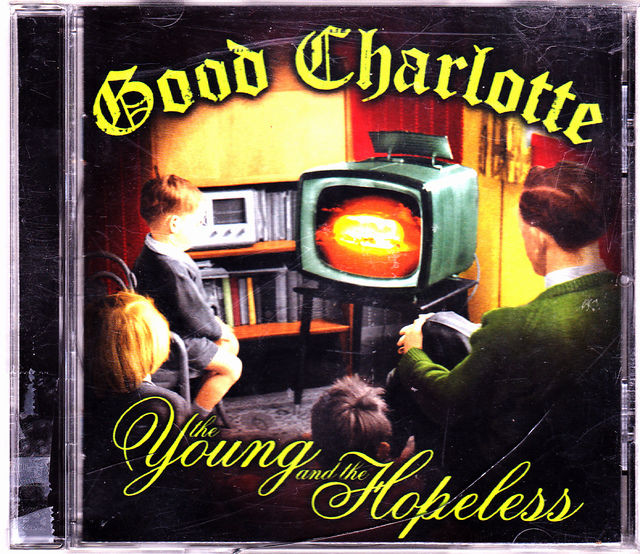 The Young and the Hopeless by Good Charlotte CD 2002 Very Good