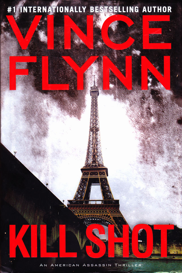 kill shot by vince flynn 2012 hardcover book very good