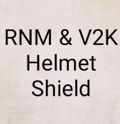Buy RNM & V2K Helmet Shield (Help TI Day this price only this month) at AtomicMall.com